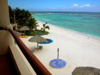 D-Terrace View.JPG - VillasDeRosa:A small family owned resort-3-bedroom - Akumal - rentals