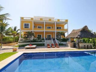 Sol Y Luna - Three story estate on beach with 15 ft by 45 ft pool & full service - Riviera Maya vacation rentals