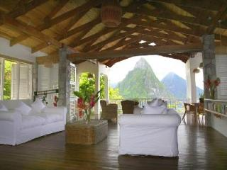 Le Gallerie overlooking Soufriere Bay - Pool and Private Beach - Soufriere vacation rentals