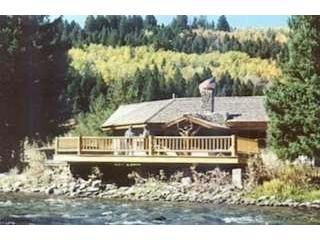 Hot Tub Overlooking the Beautiful Gallatin River. - Big Sky vacation rentals
