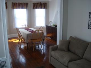 spacious living room dining room combination - Walk to Train-Downtown-Museums-Common-Waterfront - Salem - rentals
