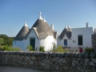 Trullo Azzurro: historic & peaceful, sleeps 8-10 - Locorotondo vacation rentals