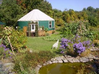 Yurt in the Garden - Elegant Yurt Nestled in Organic Garden--Sleeps 6 - Ithaca - rentals
