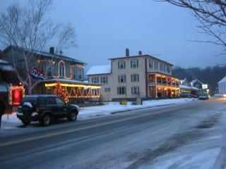 coachhouse in winter - Romantic studio apartment in an idyllic village - Montgomery Center - rentals