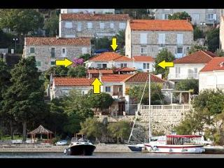 039KORC Red (4+1) - Korcula - Korcula vacation rentals