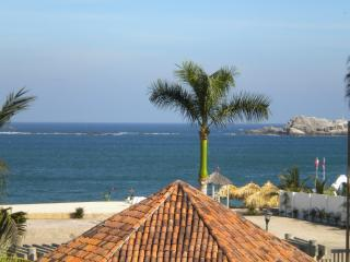 View of the Pacific from Casa Bella - BEACHFRONT CONDO WITH STUNNING VIEWS OF THE OCEAN - Huatulco - rentals