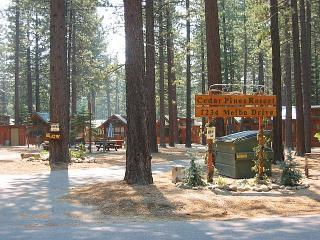 Rustic cedar Cabin located in Cedar Pines Resort - South Lake Tahoe vacation rentals