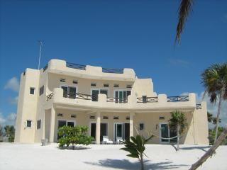 YUM BOTIC VILLA 3BR Your Own 213ft Caribbean Beach - Majahual vacation rentals
