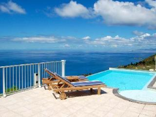 Villa Manon, stunning ocean views, terrace with jacuzzi and housekeeping - Terres Basses vacation rentals