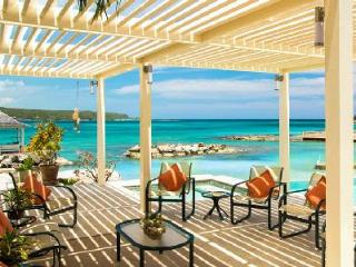 Private Beachfront Sugar Bay on Discovery Bay with pool/spa, tennis court & full staff - Jamaica vacation rentals
