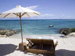 Beachfront Aquamarie-Kamique nestled in rolling landscape with pool & snorkeling - Little Harbour vacation rentals