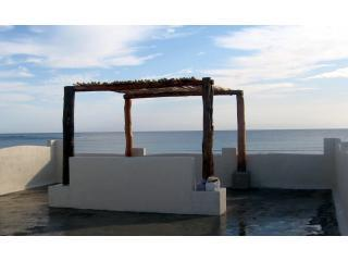 Roof-top Ramada - bring a glass of wine and toast the view - Casa Azucar - Majahual - rentals