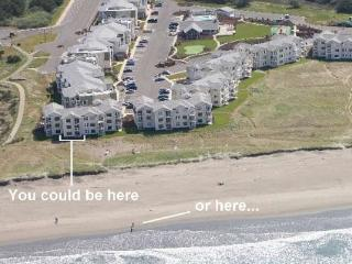 #813 - Prime Oceanfront Bldg 8 Ground Floor Beach Walk Out - Southern Washington Coast vacation rentals
