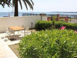BEACHFRONT TWO BEDROOM APARTMENT WITH  GARDEN - CANNES - Cannes vacation rentals