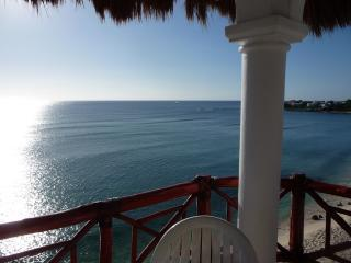 Balcony looking south - Breathtaking Views!  Akumal Penthouse Condo PC#11 - Akumal - rentals