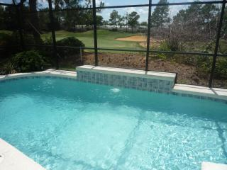 Pool With Stunning 3rd Fairway Views - 4 Bedroom Orlando Villa On Golf Course With Pool - Haines City - rentals