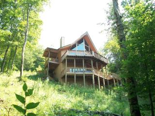 Asheville Area Cedar Chalet in Private Wolf Laurel - Mars Hill vacation rentals