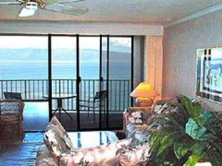 Fabulous oceanfront penthouse with free wifi - Kahana vacation rentals