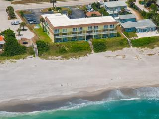 3rd FL  Ocean side view w/Euro Folding Glass Door - Indialantic vacation rentals
