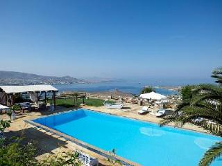 Elegant Villa Althea 2 on estate with serene sea views, chic terrace & pool - Parikia vacation rentals
