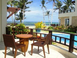 Luxury two bedroom beach front apartment - Boracay vacation rentals