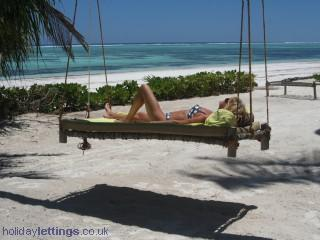 Zanzibari Hamok on our private beach - ZANZIBAR  Luxury and privacy on a pristine beach ! - Zanzibar - rentals