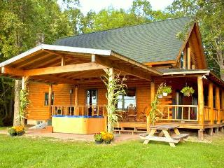 Beautiful Mountain Views Log Cabin near Lake! - Lake Champlain Valley vacation rentals