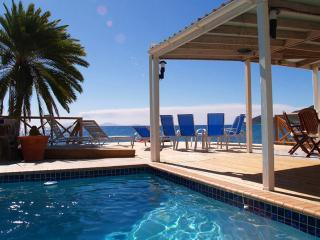 Shell Villa - 3 Bedroom Luxurious Oceanfront Villa - Antigua vacation rentals