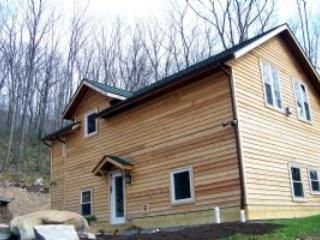 Cedar cabin nestled in private setting. Deep Creek - Oakland vacation rentals
