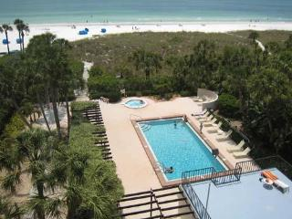 2BR2BA Gulf View SiestaKey Beach HDTV PVR FreeWiFi E - Siesta Key vacation rentals
