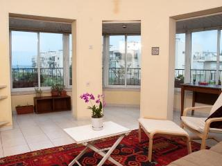 Sea view from the living room Tel Aviv  Ben Yehuda - Israel vacation rentals