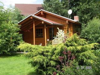 Romantic timber-guesthouse, fireplace garden pool - Klipphausen vacation rentals