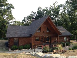 Spectacular 3 bedroom Log Home w/Loft Game Room - Branson vacation rentals