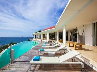 Reef Point Villa offers breathtaking ocean views and infinity pool - Saint Barthelemy vacation rentals