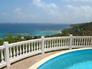 Beautiful and private Villa 21 has a pool, staff and unbelievable ocean views - Petites Salines vacation rentals