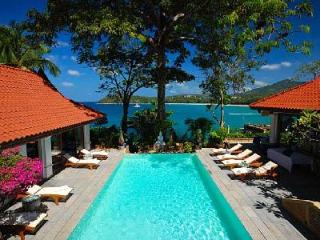 Secluded Baan Kata Keeree - 4 main buildings with private beach access & staff - Kata vacation rentals