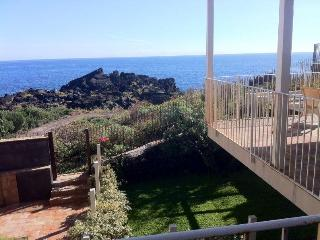 Casa Pozzillo:  two nice rooms for touch the sea - Acireale vacation rentals