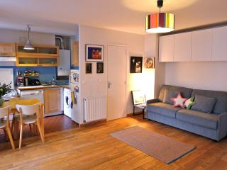 Sweet studio by the Canal St Martin. Free wi-fi!! - 10th Arrondissement Enclos-St-Laurent vacation rentals