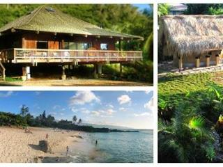 North Shore Oahu Tropical Luxury Private BeachHome - Sleeps 6 - North Shore vacation rentals