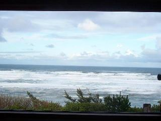 Newport, Oregon Coast bluff cottage, Stunning VIEW! - Newport vacation rentals