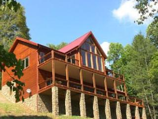 Red Top Retreat is a Luxury Log Home - Butler vacation rentals