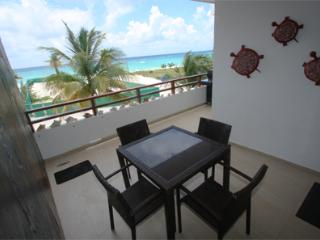 Beachfont Terrace With Soothing Sounds: Iguana Fea - Playa del Carmen vacation rentals