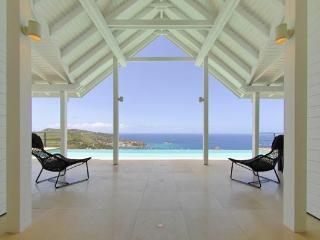 Hillside with one of the most spectacular views St Barts offers WV VUE - Colombier vacation rentals
