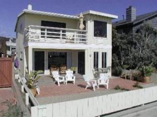 Charming Ocean Front Duplex, South Mission Beach - San Diego vacation rentals