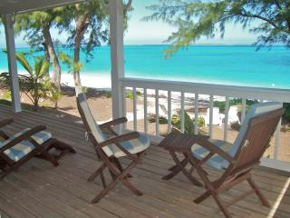 Oceanfront...Wraparound porch... Best location...Kayaks included... - Great Exuma vacation rentals
