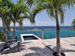 Contemporary, quiet villa near lively activities of the harbor WV GUS - Saint Barthelemy vacation rentals