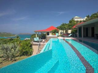 Large contemporary villa overlooking the ocean & the countryside WV LMR - Saint Barthelemy vacation rentals