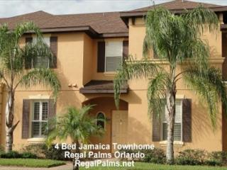 4 Bed 3 Bed  Town Home Villa At Regal Palms Resort Orlando Florida AS4021CL - Davenport vacation rentals