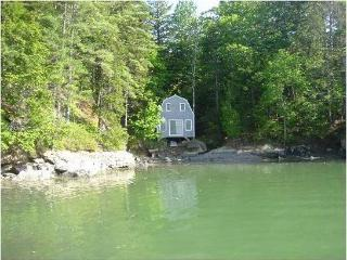 SUNSET COTTAGE BOAT HOUSE - Rented Only With Sunset Cottage - West Bath vacation rentals