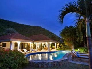Family friendly Villa On The Beach offers ocean views, pool, shared tennis court and watersports - British Virgin Islands vacation rentals